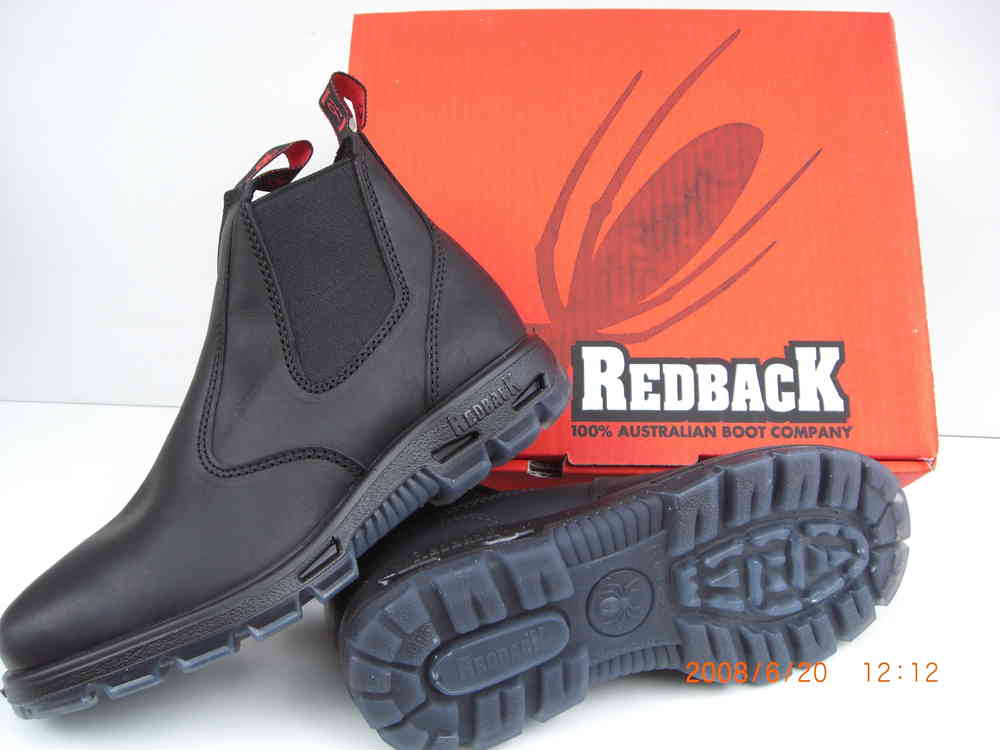 cc2887724d4a7 Australian Redback Boots USBBK with steel caps