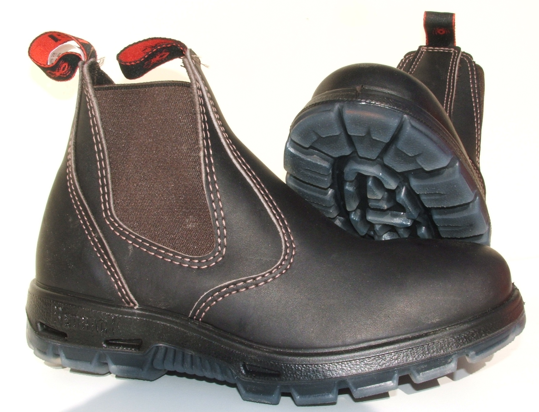 Redback Boots Brown with steel caps - The Australian Way