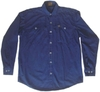 Canvas Shirt Blue BSH-30